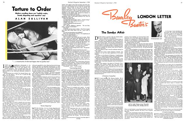 Article Preview: LONDON LETTER, September 1938 | Maclean's