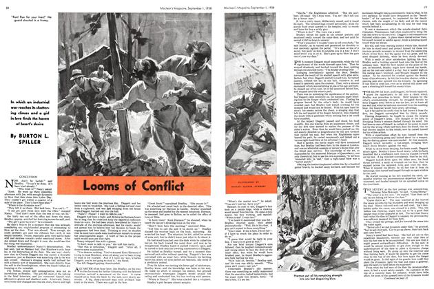 Article Preview: Looms of Conflict, September 1938 | Maclean's