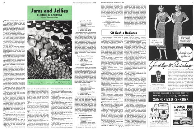 Article Preview: Jams and Jellies, September 1938 | Maclean's