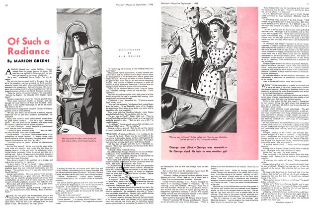 Article Preview: Of Such a Radiance, September 1938 | Maclean's