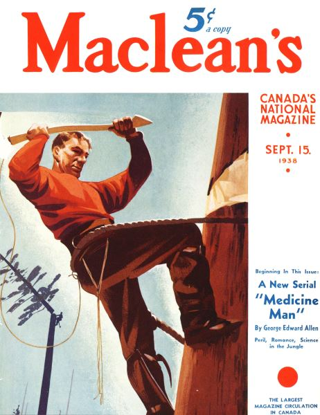 Issue: - SEPT. 15. 1938 | Maclean's
