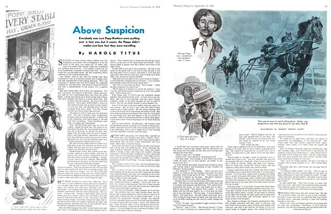 Article Preview: Above Suspicion, SEPT. 15. 1938 1938 | Maclean's