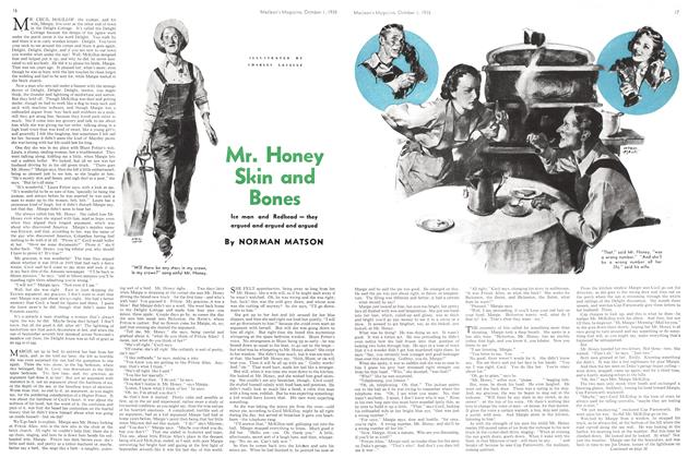 Article Preview: Mr. Honey Skin and Bones, October 1938 | Maclean's