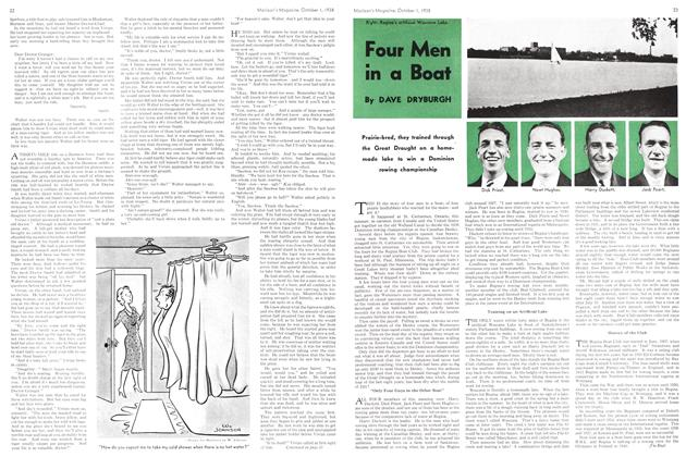 Article Preview: Four Men in a Boat, October 1938 | Maclean's
