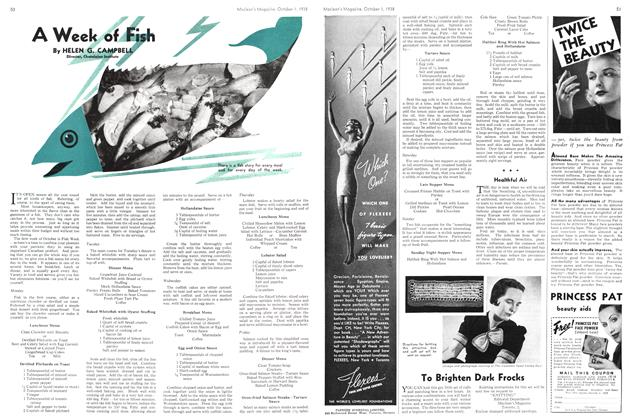 Article Preview: A Week of Fish, October 1938 | Maclean's