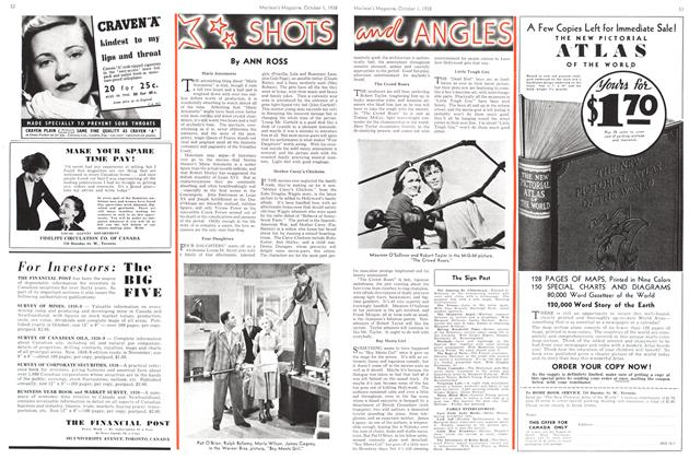 Article Preview: SHOTS and ANGLES, October 1938 | Maclean's