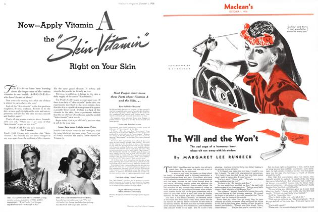 Article Preview: The Will and the Won't, October 1938 | Maclean's