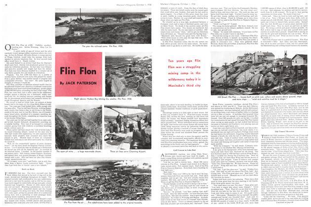 Article Preview: Flin Flon, October 1938 | Maclean's