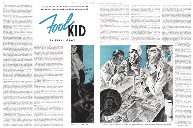 Article Preview: FOOL KID, October 1938 | Maclean's