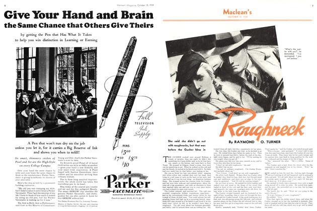 Article Preview: Roughneck, October 1938 | Maclean's