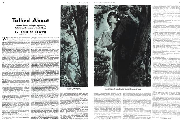 Article Preview: Talked About, October 1938 | Maclean's