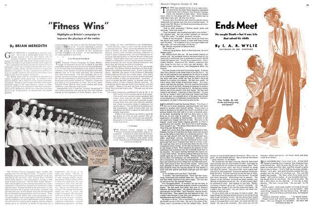 "Article Preview: ""Fitness Wins"", October 1938 