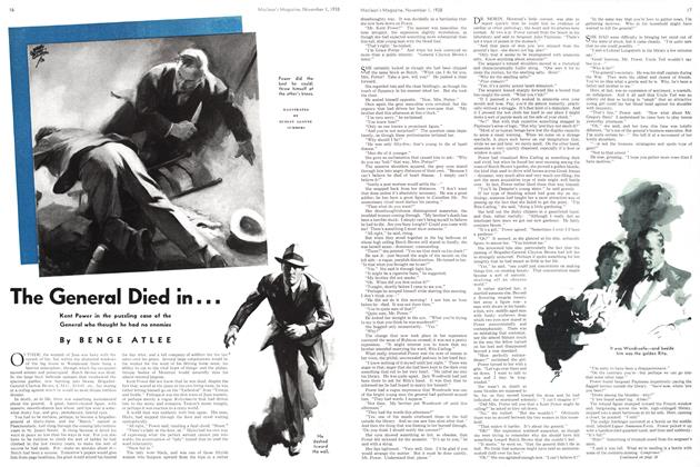 Article Preview: The General Died in..., November 1938 | Maclean's