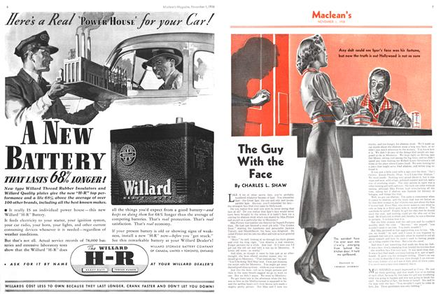 Article Preview: The Guy With the Face, November 1938 | Maclean's