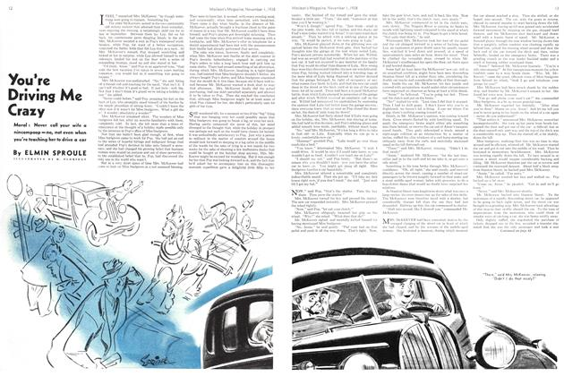 Article Preview: You're Driving Me Crazy, November 1938 | Maclean's