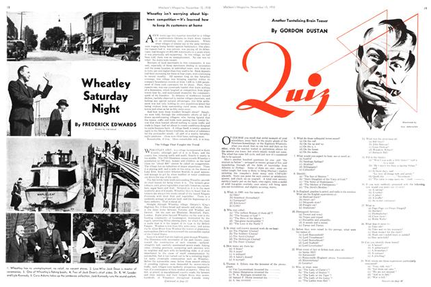 Article Preview: Wheatley Saturday Night, November 1938 | Maclean's