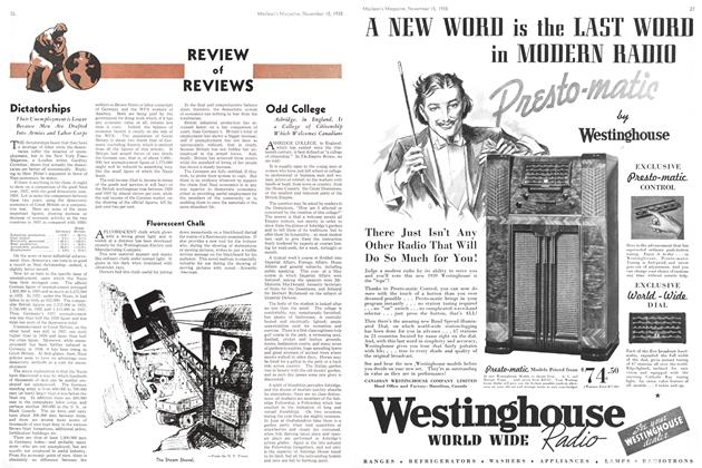Article Preview: REVIEW of REVIEWS, November 1938 | Maclean's