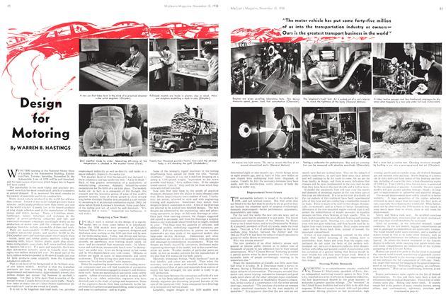 Article Preview: Motoring, November 1938 | Maclean's