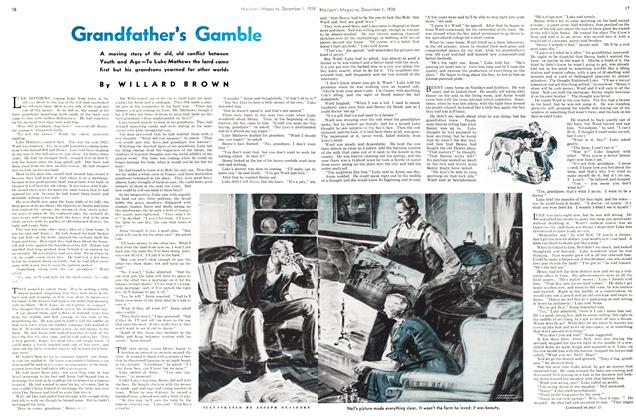 Article Preview: Grandfather's Gamble, December 1938 | Maclean's