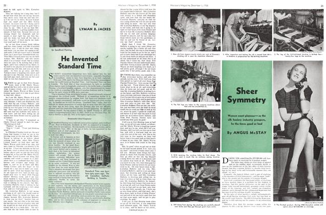 Article Preview: Sheer Symmetry, December 1938 | Maclean's