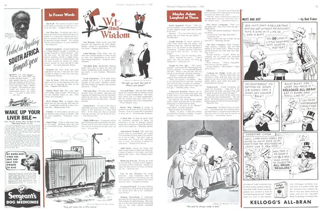 Article Preview: Wit and Wisdom, December 1938 | Maclean's