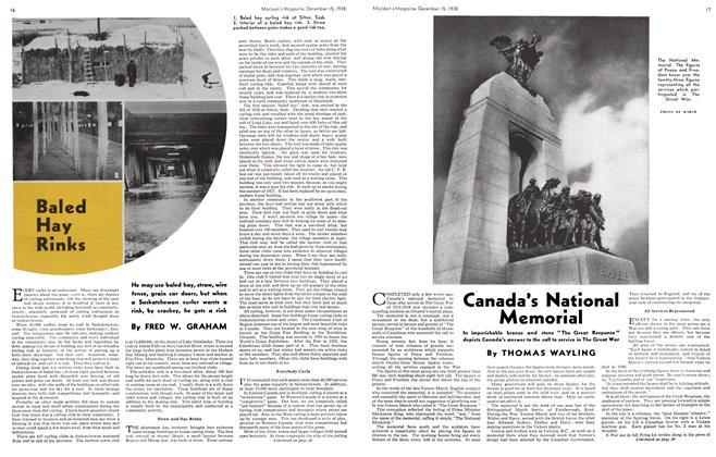 Article Preview: Canada's National Memorial, December 1938 | Maclean's