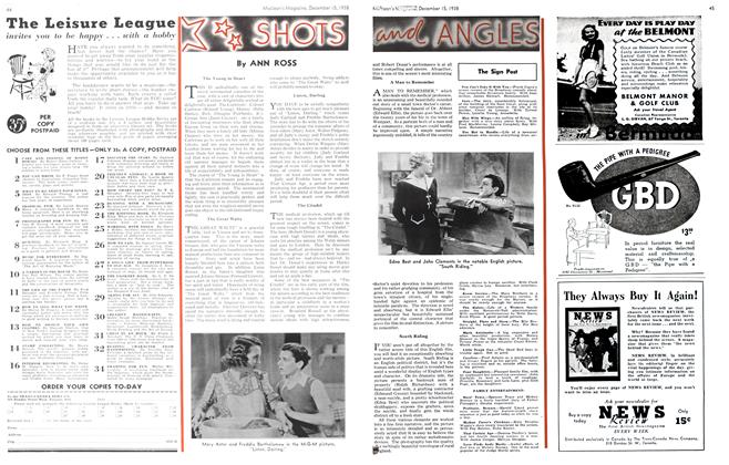 Article Preview: SHOTS and ANGLES, December 1938 | Maclean's