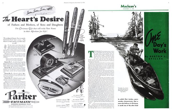 Article Preview: One Day's Work, December 1938 | Maclean's