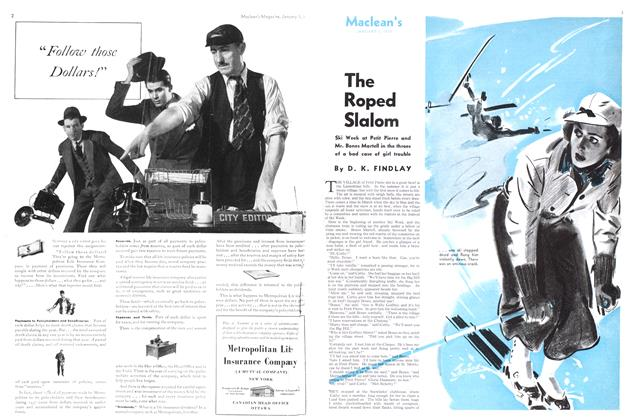 Article Preview: The Roped Slalom, January 1939 | Maclean's