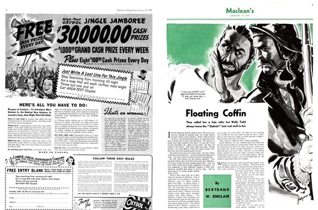 Article Preview: Floating Coffin, January 1939 | Maclean's