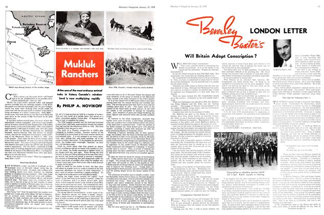 Article Preview: Mukluk Ranchers, January 1939   Maclean's
