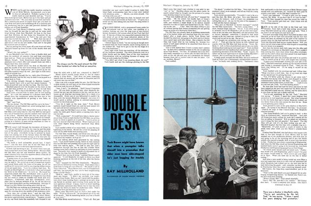 Article Preview: DOUBLE DESK, January 1939 | Maclean's