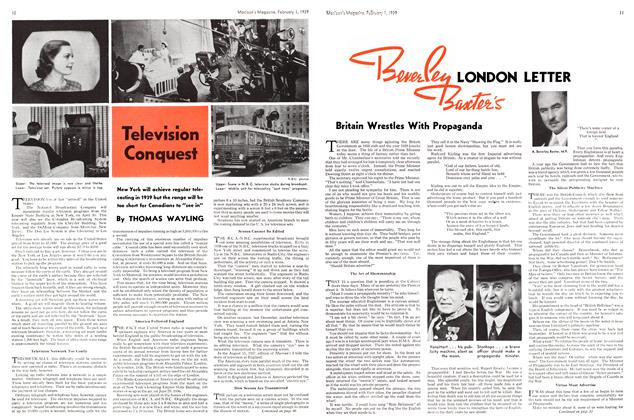 Article Preview: LONDON LETTER, February 1939 | Maclean's