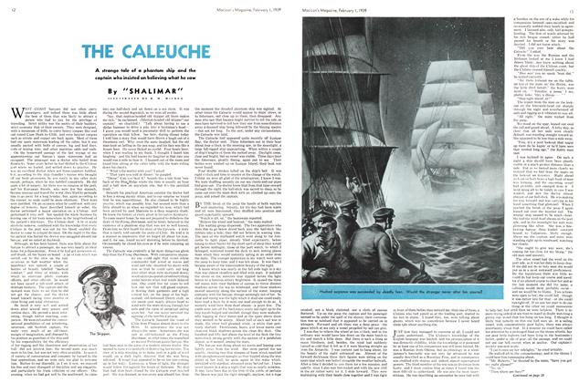 Article Preview: THE CALEUCHE, February 1939 | Maclean's