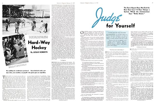 Article Preview: Judge for Yourself, February 1939 | Maclean's