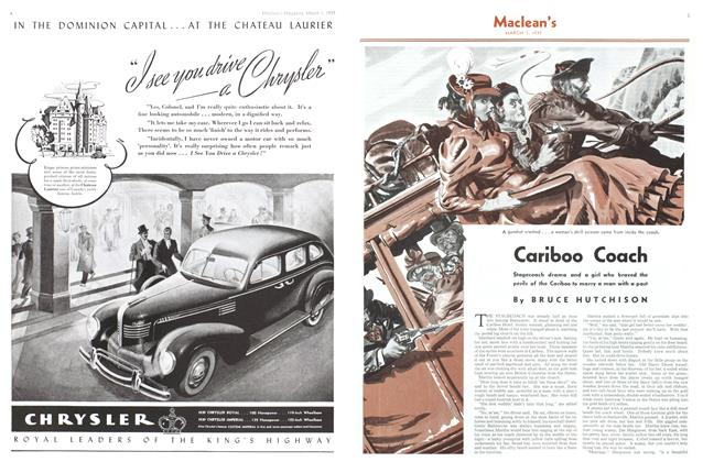 Article Preview: Cariboo Coach, March 1939 | Maclean's