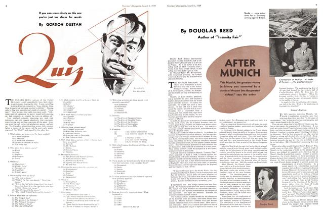 Article Preview: AFTER MUNICH, March 1939 | Maclean's