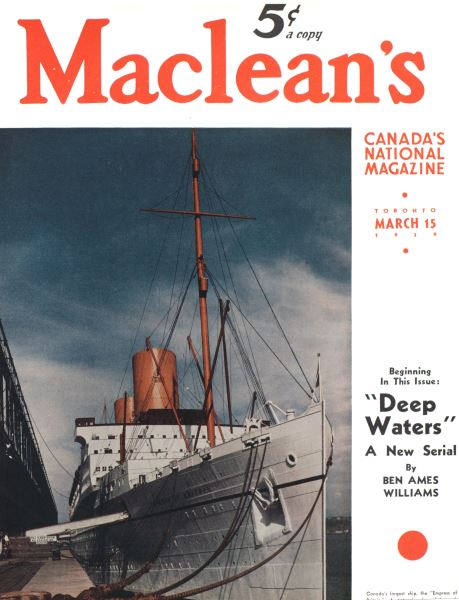 Issue: - March 1939 | Maclean's