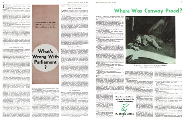 Article Preview: Where Was Conway Praed?, March 1939 | Maclean's
