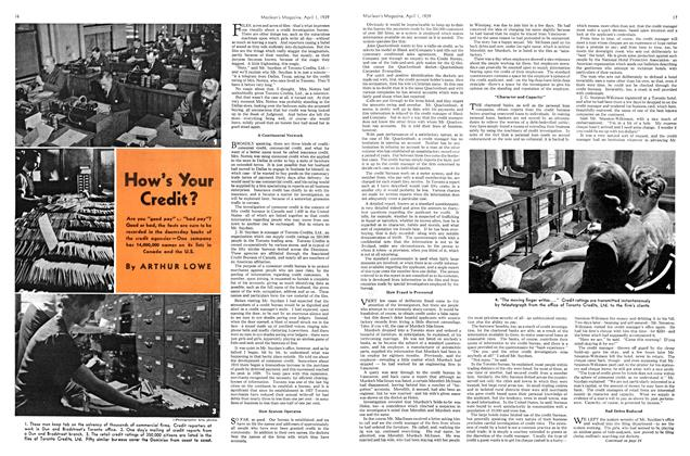 Article Preview: How's Your Credit?, April 1939 | Maclean's