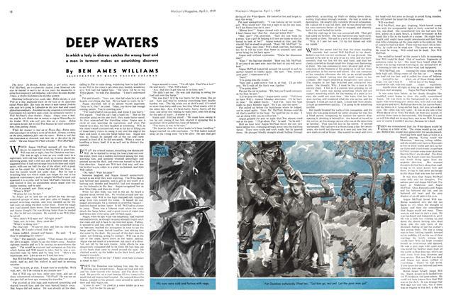 Article Preview: DEEP WATERS, April 1939 | Maclean's