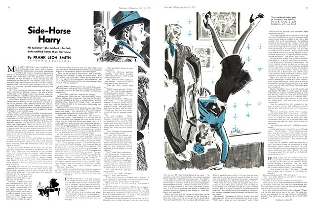 Article Preview: Side-Horse Harry, April 1939 | Maclean's