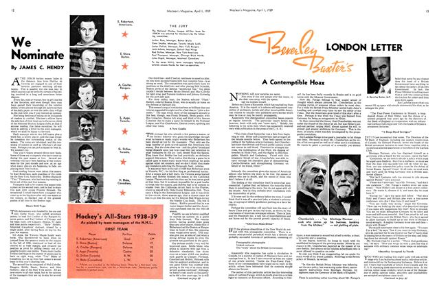 Article Preview: We Nominate, April 1939 | Maclean's