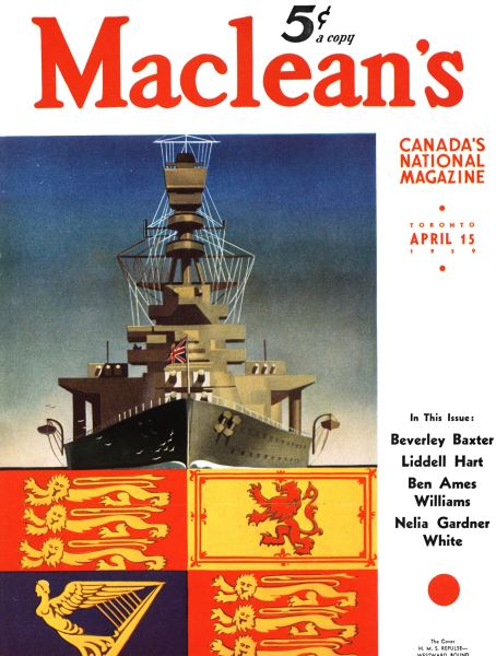 Issue: - April 1939 | Maclean's