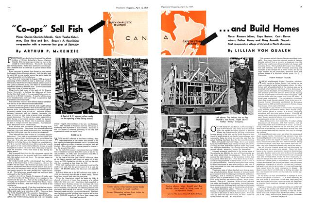 "Article Preview: ""Co-ops"" Sell Fish, April 1939 