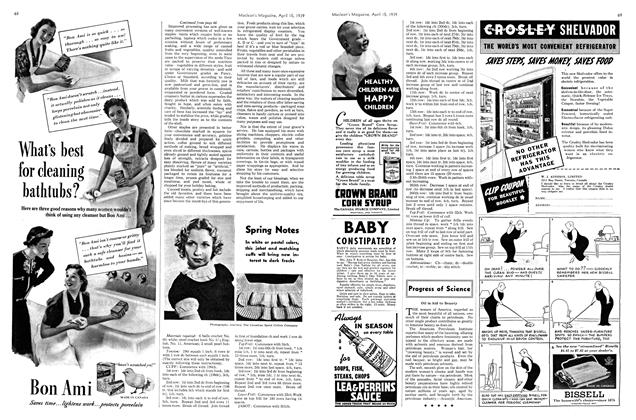 Article Preview: Spring Notes, April 1939 | Maclean's