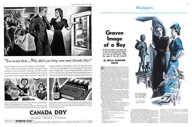 Article Preview: Graven Image of a Boy, April 1939 | Maclean's