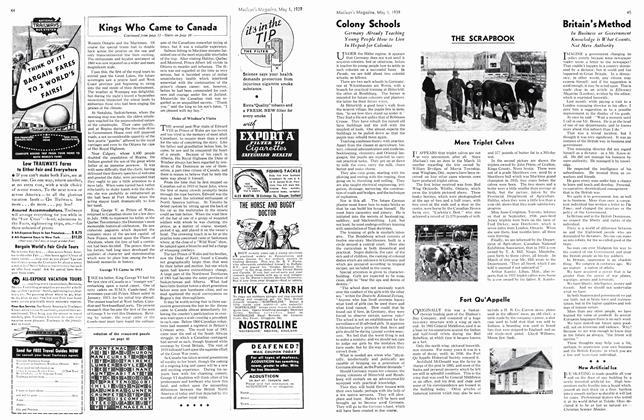 Article Preview: Britain's Method, May 1939 | Maclean's