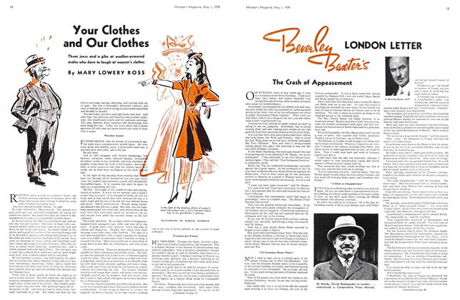 Article Preview: Your Clothes and Our Clothes, May 1939 | Maclean's