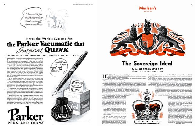 Article Preview: The Sovereign Ideal, May 1939 | Maclean's